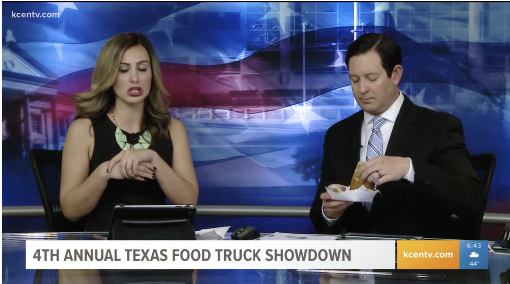 It'll be a food fight at the Texas Food Truck Showdown in Waco