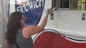 Food trucks face off in Downtown Waco