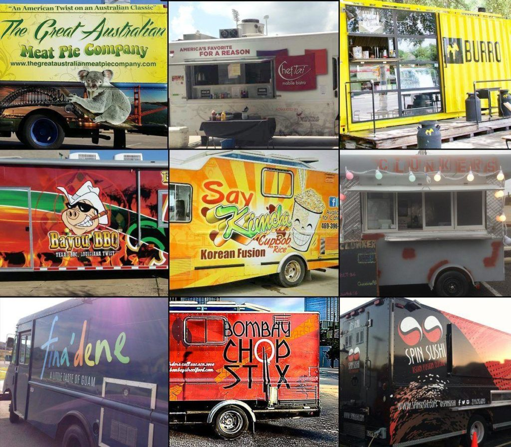 Food Truck Showdown: Serving up wide variety of cuisine in downtown Waco